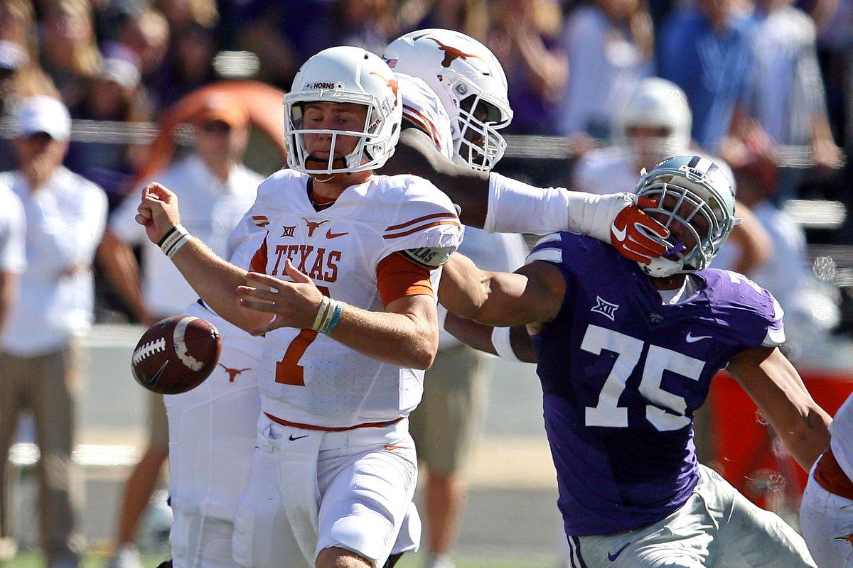 NCAA Football: Texas at Kansas State