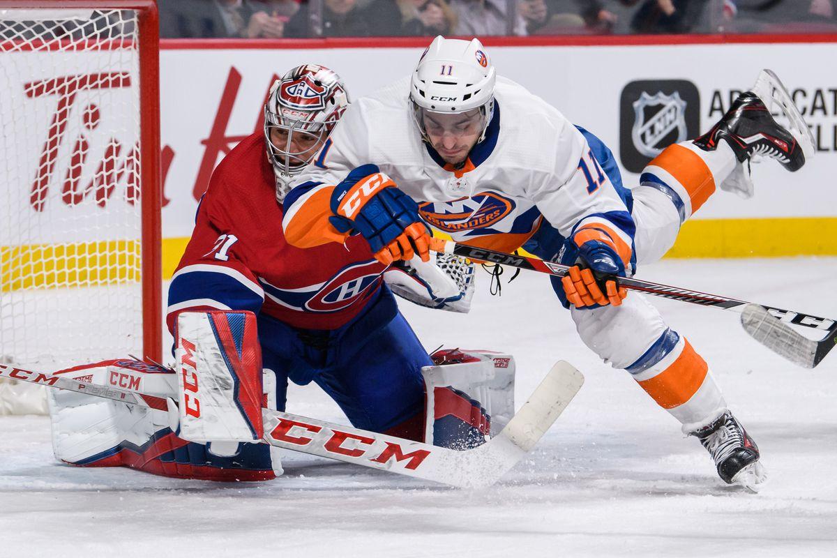 NHL: JAN 15 Islanders at Canadiens