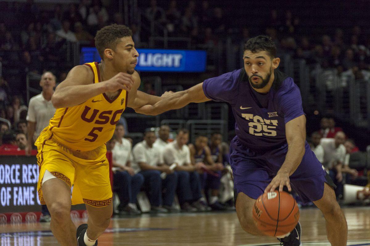 TCU Basketball vs USC | Staples Center, LA | December 7, 2018