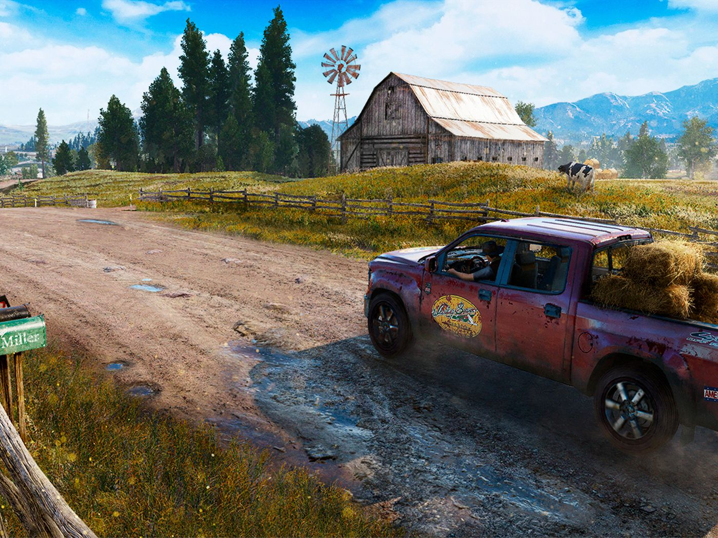 How Big Is Far Cry 5 S Map Polygon