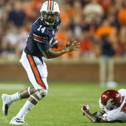 Nick Marshall couldn't throw, but he proved elusive