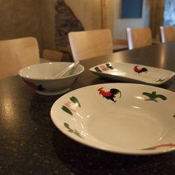 Typical Malaysian plateware
