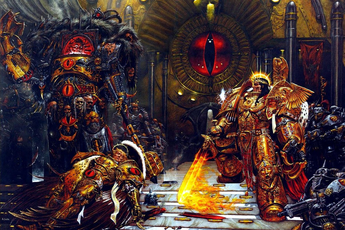 this is basically 40k