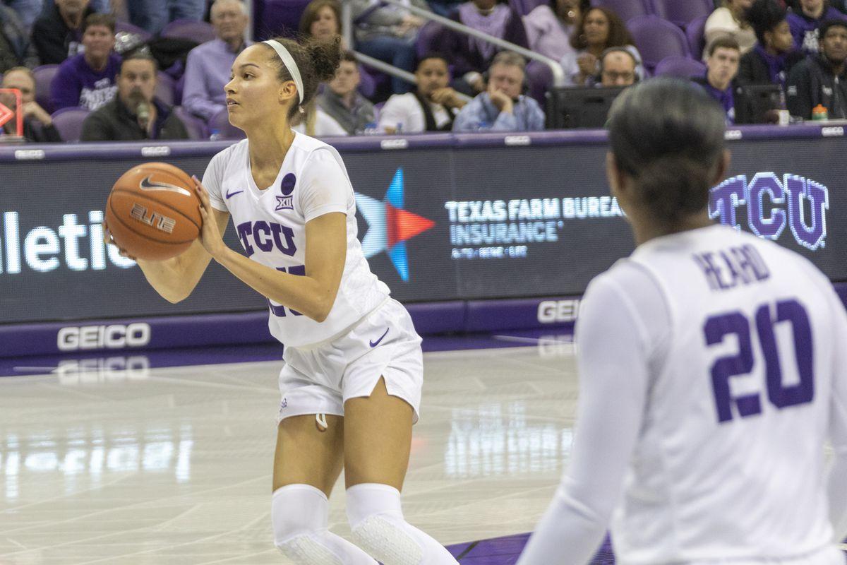 TCU Women's Basketball vs Texas | February 26, 2020 | Schollmaier Arena, Fort Worth, TX