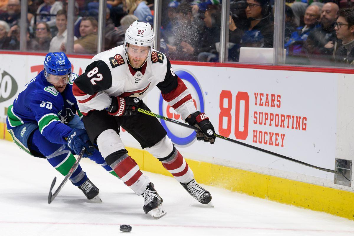 NHL: SEP 26 Preseason - Coyotes at Canucks