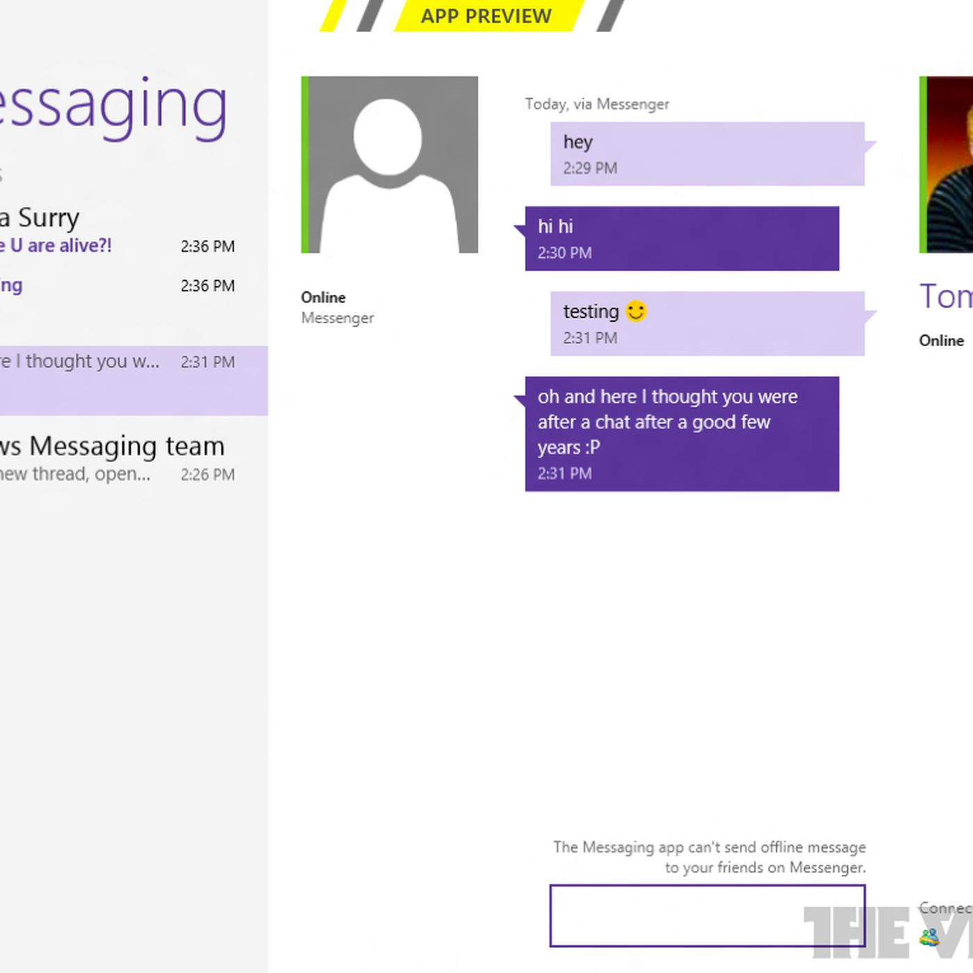 Windows 8: a closer look at Messaging, Mail, Photos, and
