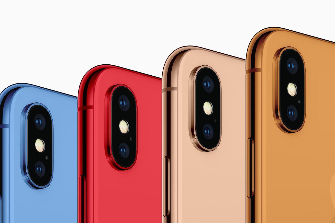 apple reportedly launching new iphones in blue orange and gold colors