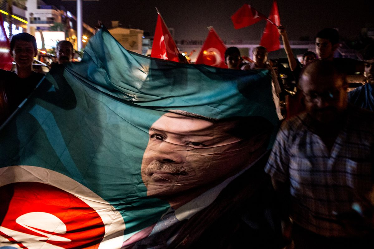 Elements Of Turkish Military Stage A Coup