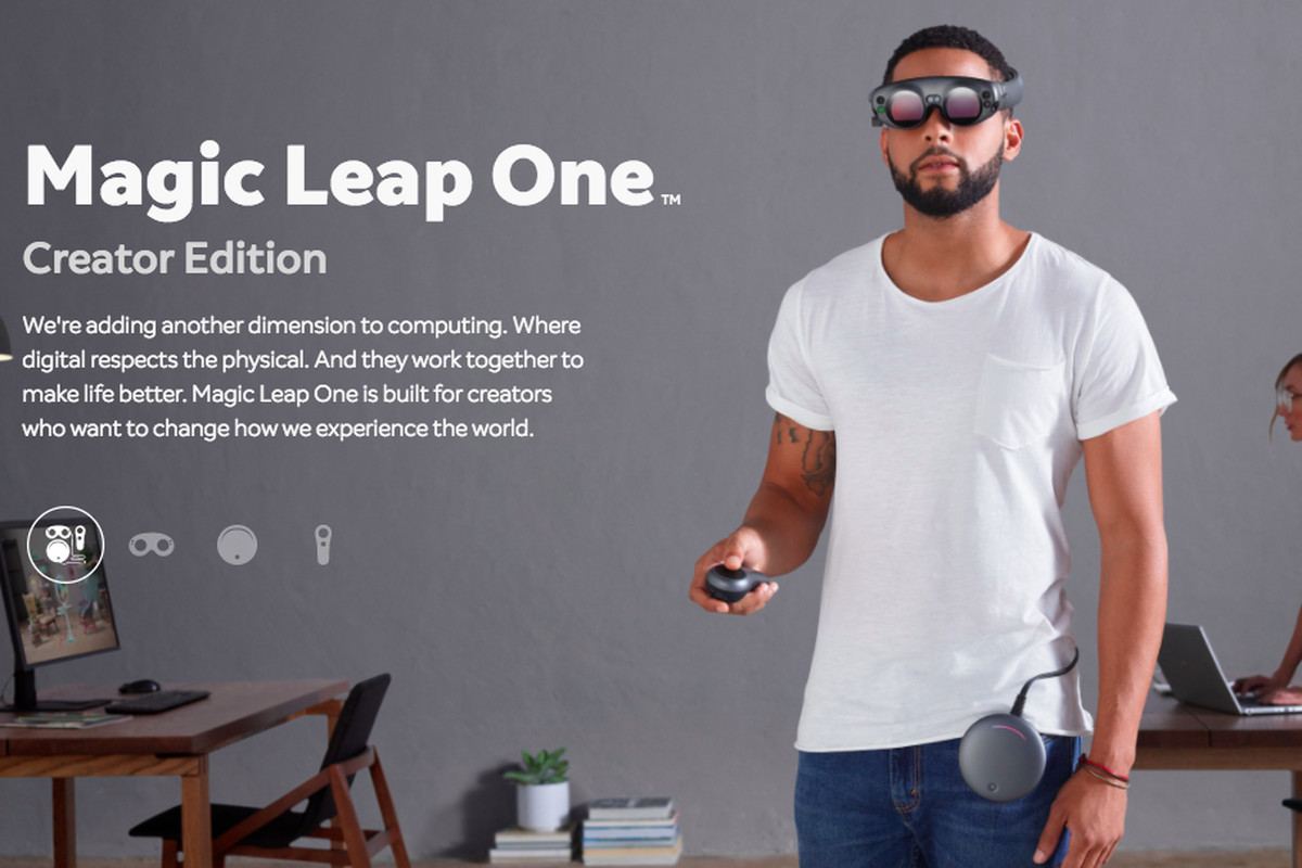 Startup company Magic Leap introduces augmented-reality glasses