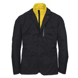 """Victorinox Altitude Blazer, $495.00, Victorinox.com: """"This is the perfect unisex travel jacket. It packs into its own pocket, and is reversible with a nylon side for the rain."""""""