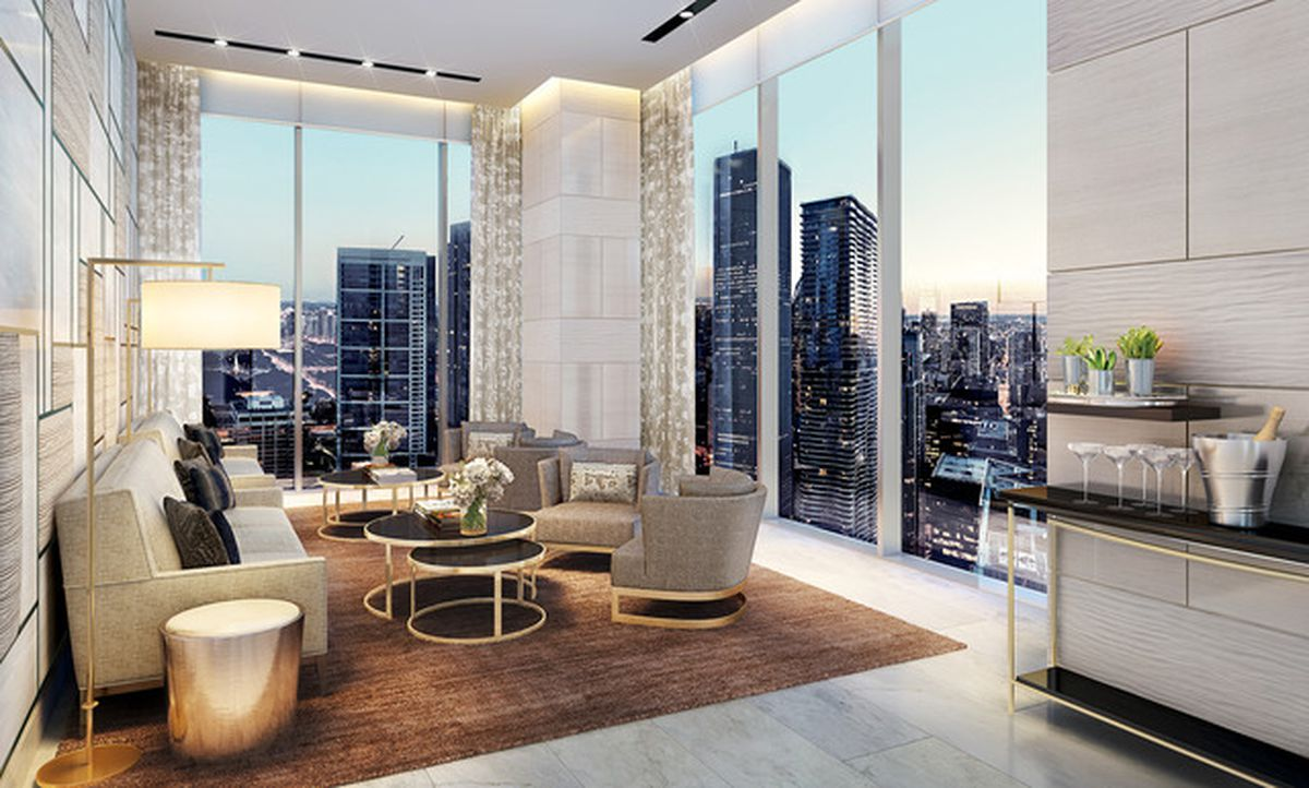 Even More Renderings Of The Upcoming 93 Story Vista Tower