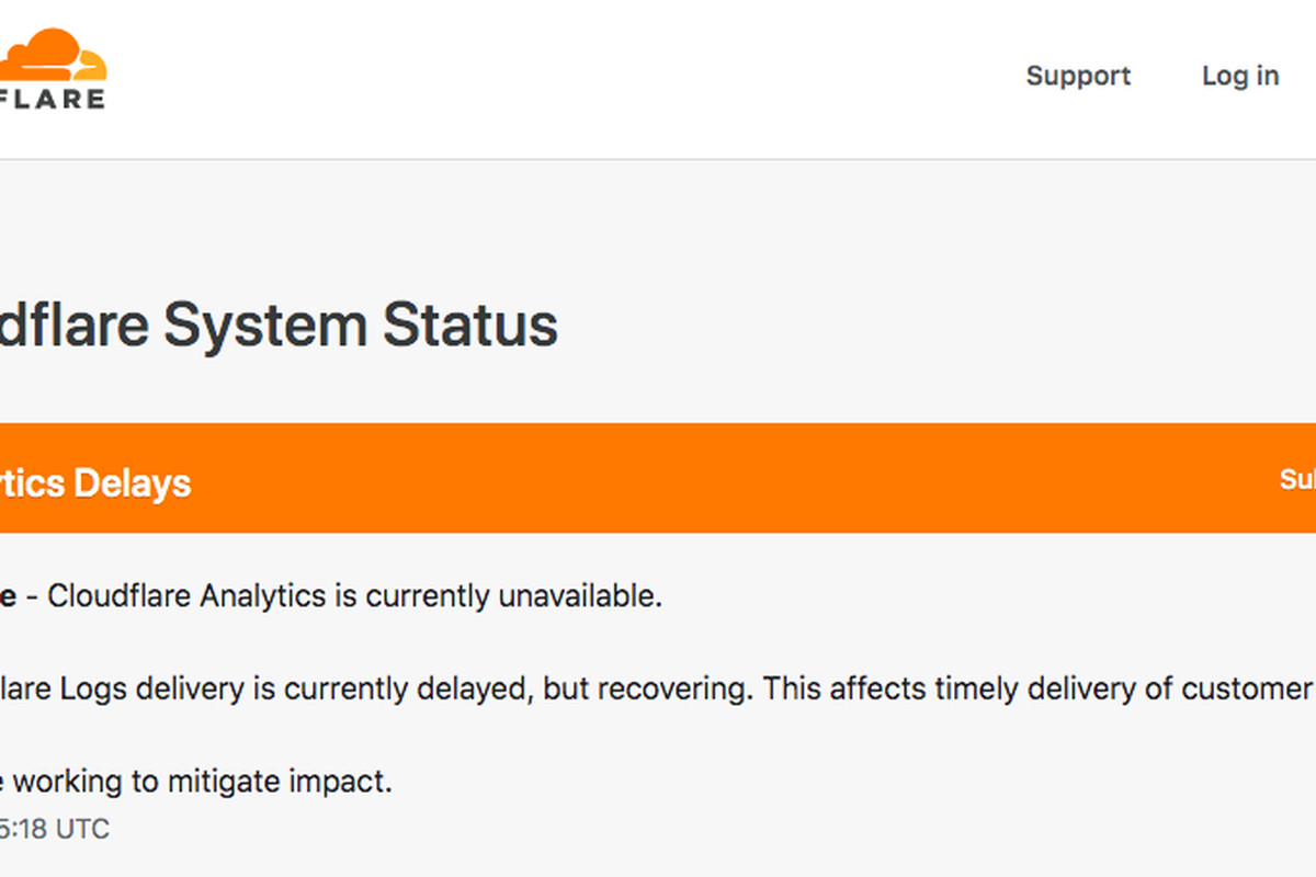DownDetector down as another Cloudflare outage affects