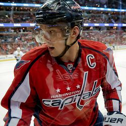 Ovechkin By Glass
