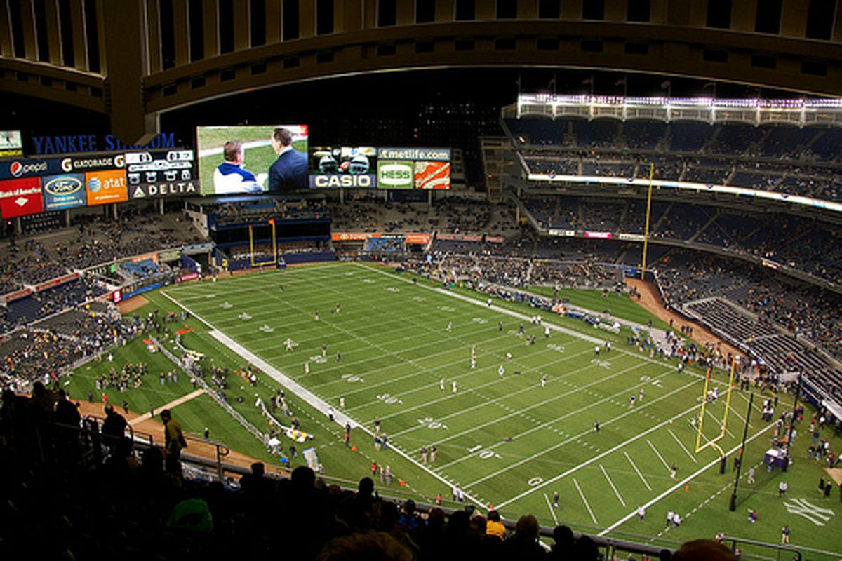 Neutral field contests will be a hallmark of present and future Notre Dame schedules.