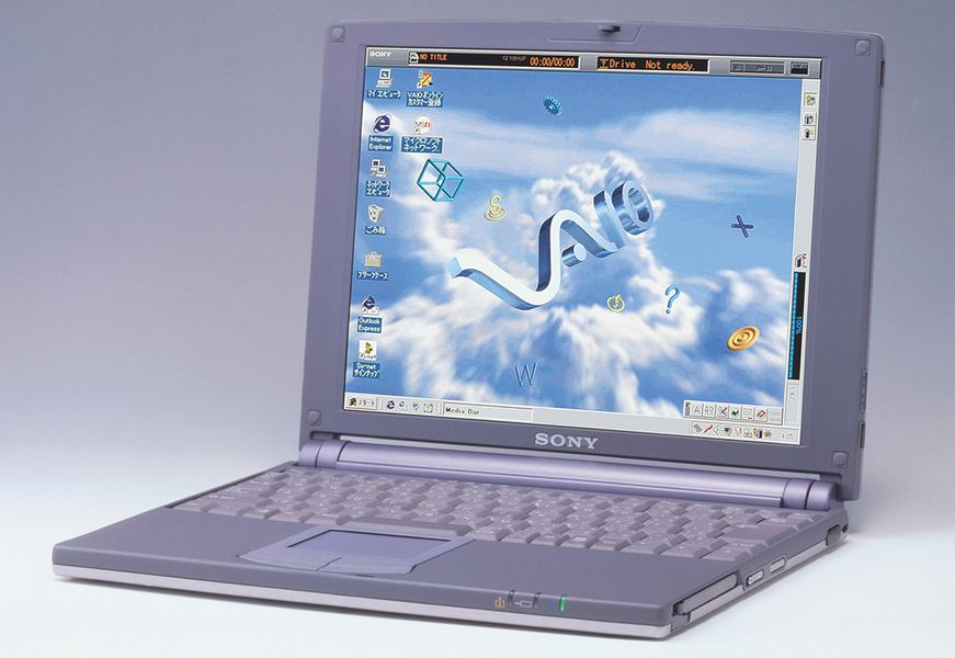 Sony Vaio A Visual History The Verge