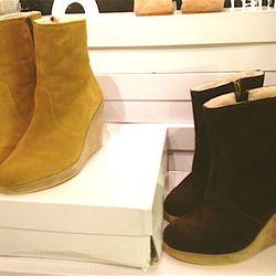 Senelle boots, 70% off