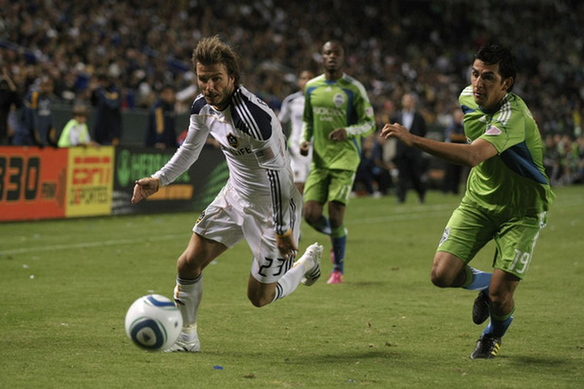 David Beckham and Leo Gonzalez both have better days behind them, but their teams are trying to push for titles in entirely different windows. Galaxy right now, while Seattle probably has a few more years.