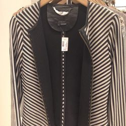 Scoop NYC leather jacket, $215