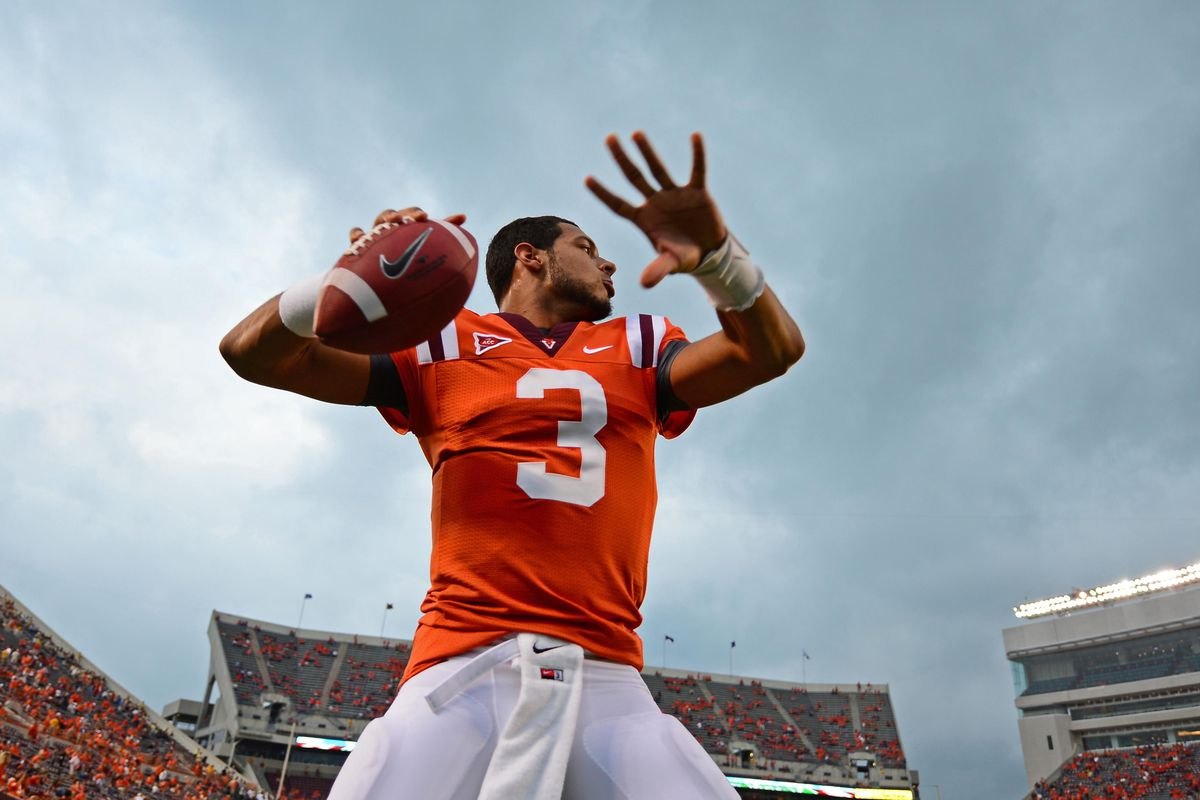 Logan Thomas have the potential to be a professional quarterback.