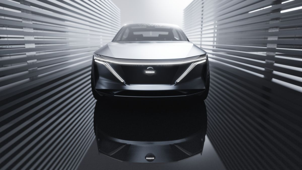 Nissan S New Ev Concept Is A Luxury Sedan With 380 Miles Of Range