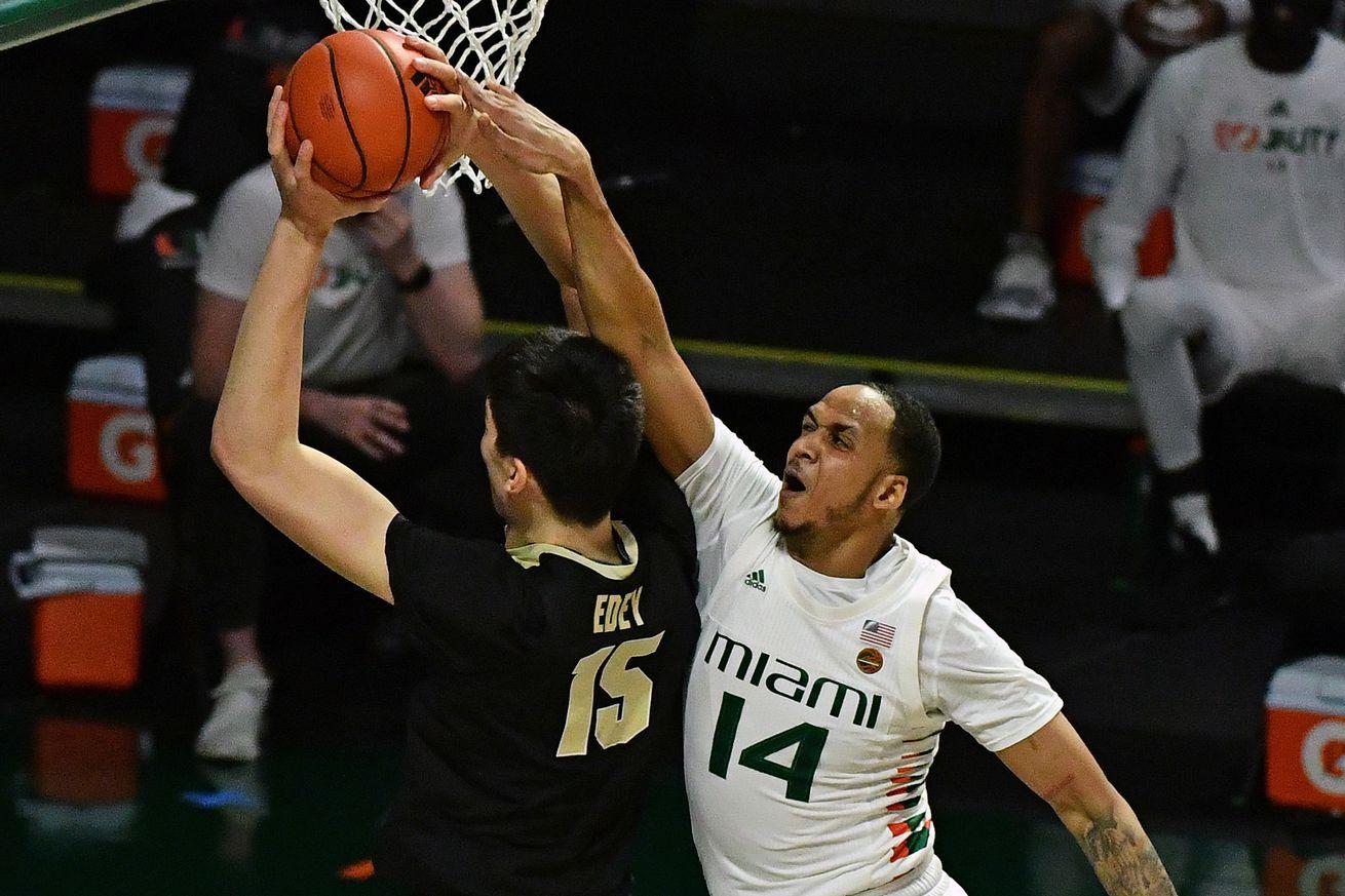 NCAA Basketball: Purdue at Miami-Florida