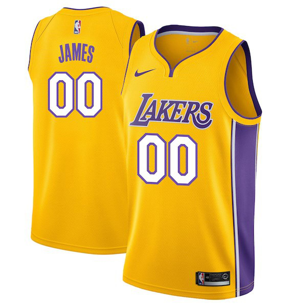 LeBron James Lakers jerseys and t-shirts now available ...