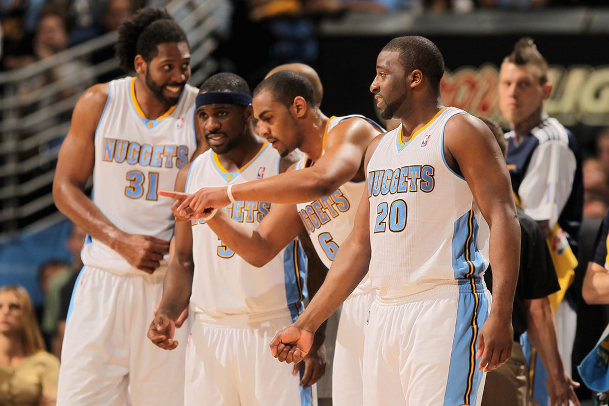 Will Nene Hilario, Ty Lawson, and Arron Afflalo get a shot to continue things in Denver in 2011-12?