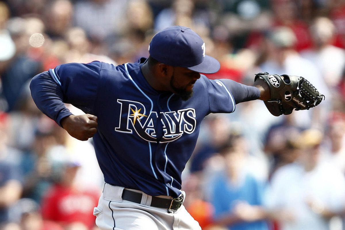 Someone tell Fernando Rodney that the Heisman pose requires more of an uphill angle.