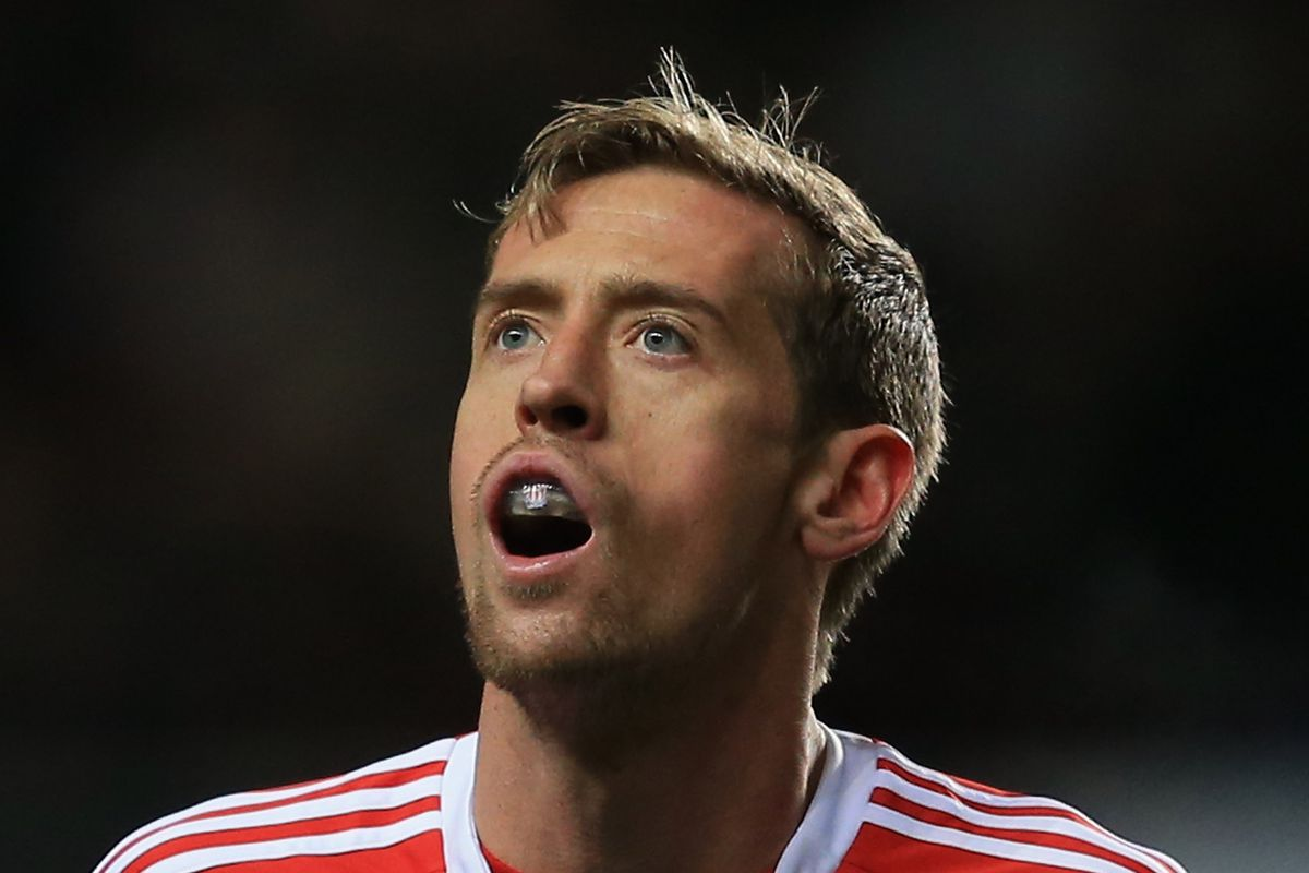 There are an unlimited number of funny pictures of Peter Crouch
