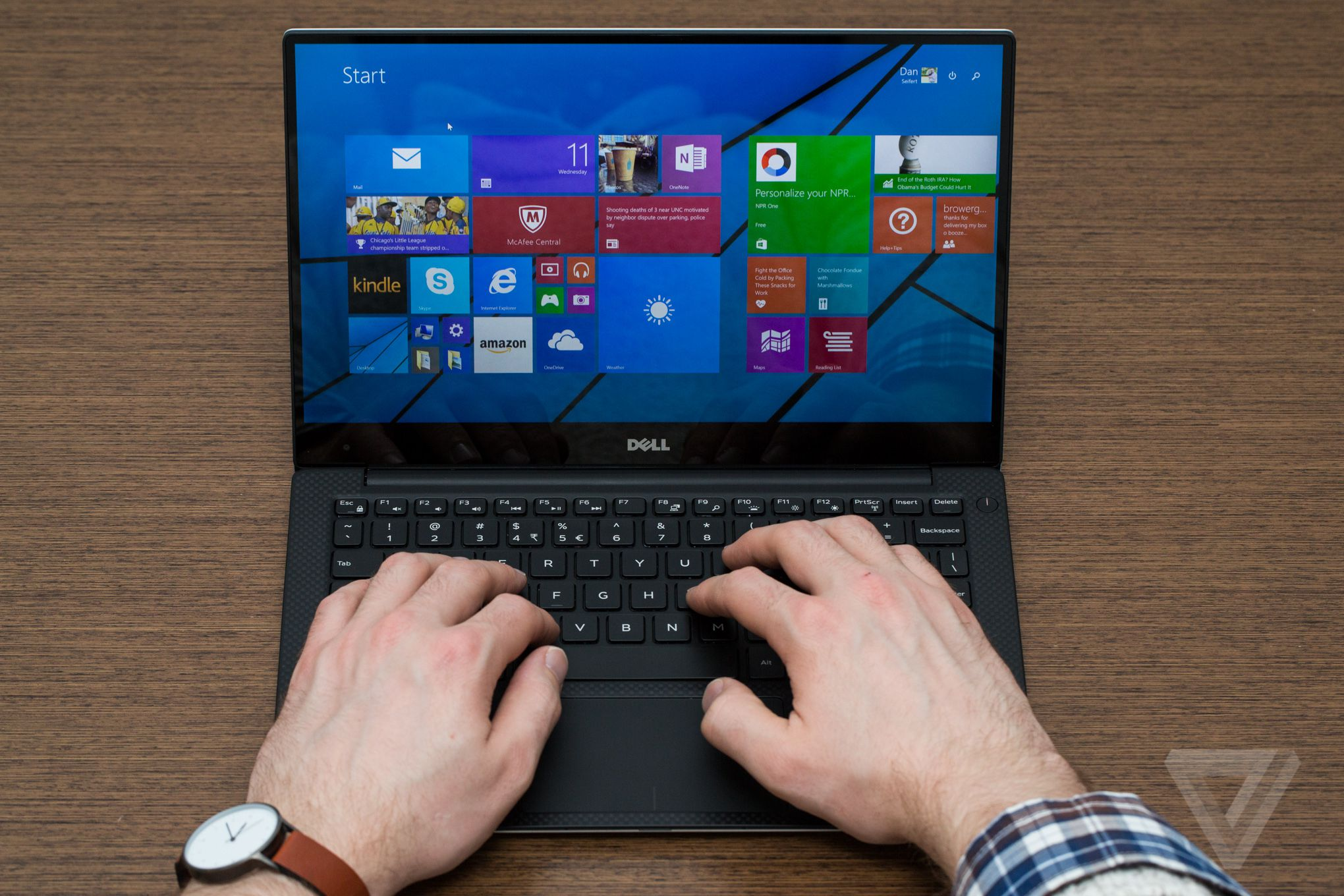 Dell's XPS 13 is a look at the future of laptops | The Verge