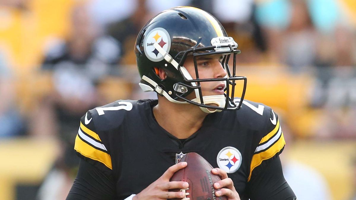 267f2d916ee Mason Rudolph turns to his inner nerd to help him win the Steelers  backup  role