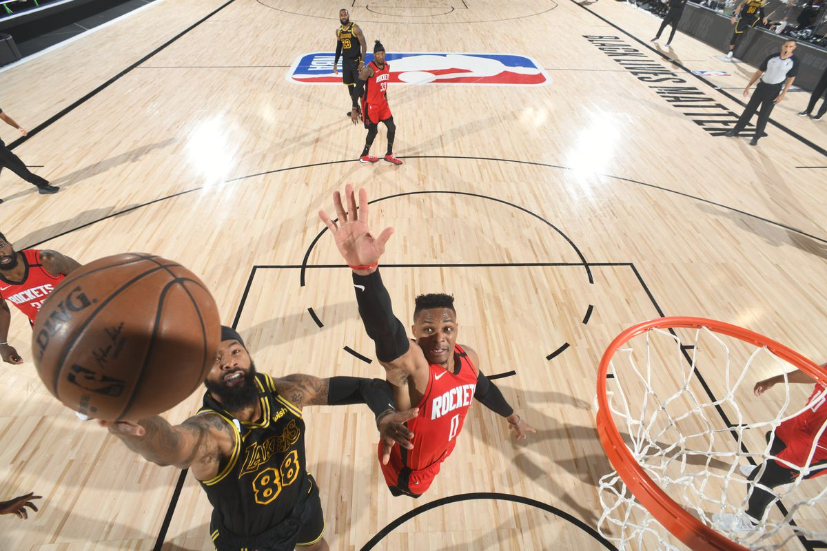 NBA Playoffs: Markieff  Morris gave Lakers 'huge boost' against Rockets -  Silver Screen and Roll