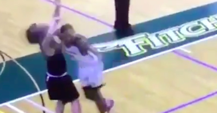 This college player?s cheap shot was so dirty, he got banned from campus
