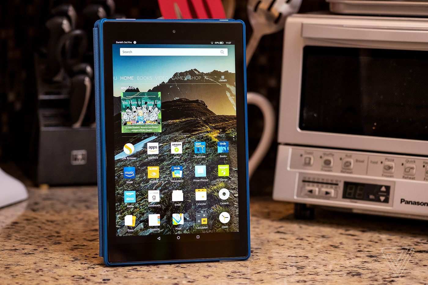 Amazon Fire Hd 10 Review More Personal Tv Than Personal Computer The Verge