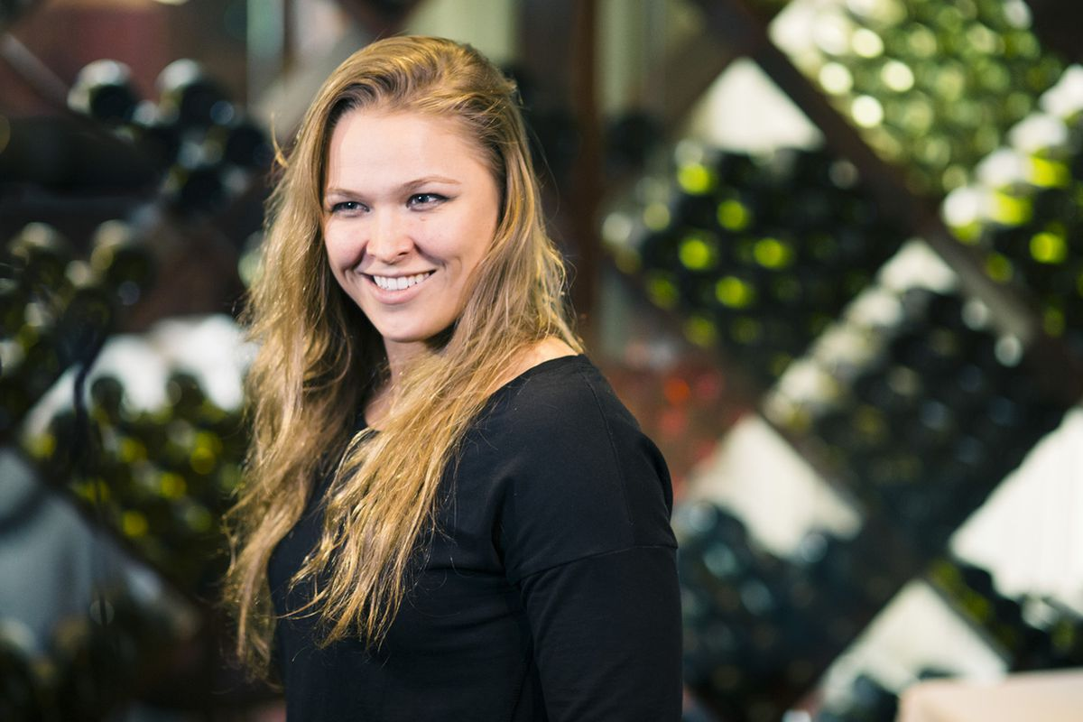 Ronda Rousey defends her UFC title in the main event of UFC 170.