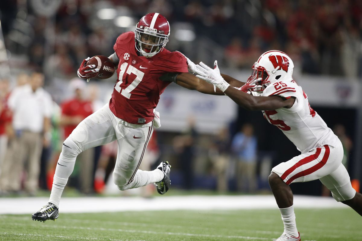 Kenyan Drake and Alabama were too much for the B1G Badgers