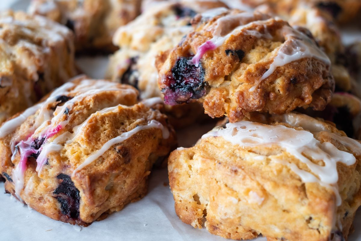 A selection of scones