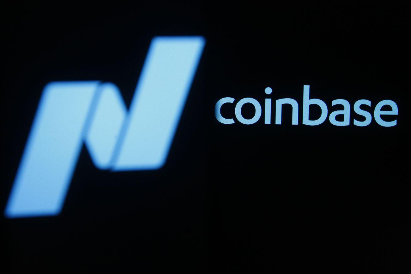 the coinbase logo