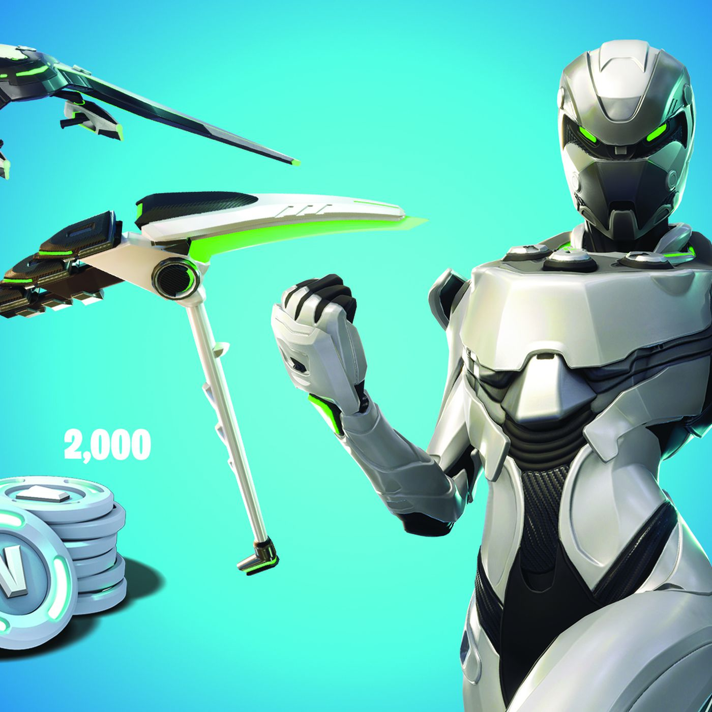 How To Find Fortnite Purchase On Xbox One Exclusive Fortnite Skin For New Xbox Bundle Makes You Look Like An Xbox The Verge