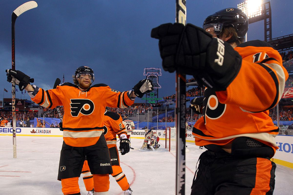 77639c802 Bruce Bennett. You don t need to see pictures of the Philadelphia Flyers new  third jersey.