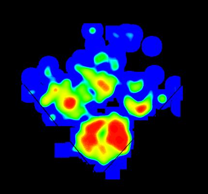Dom Smith 2014 Heat Map