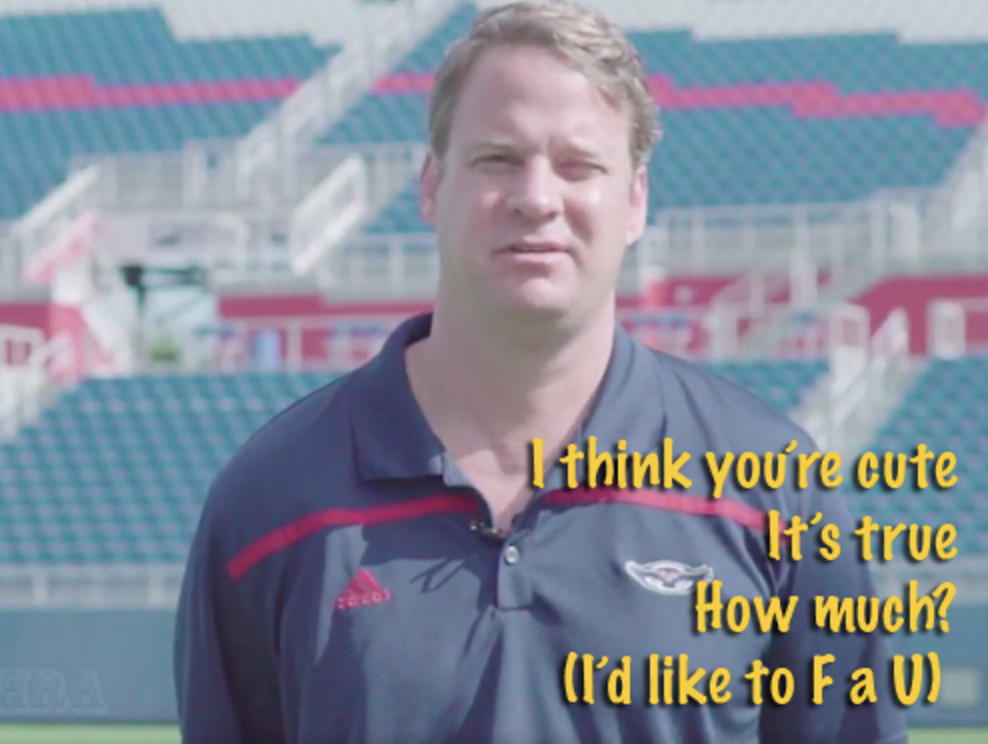 Lane Kiffin loves you like a jetski/well maybe not as much as a jetski/okay that was a bit much/He's sorry, sexy jetski, please don't be mad