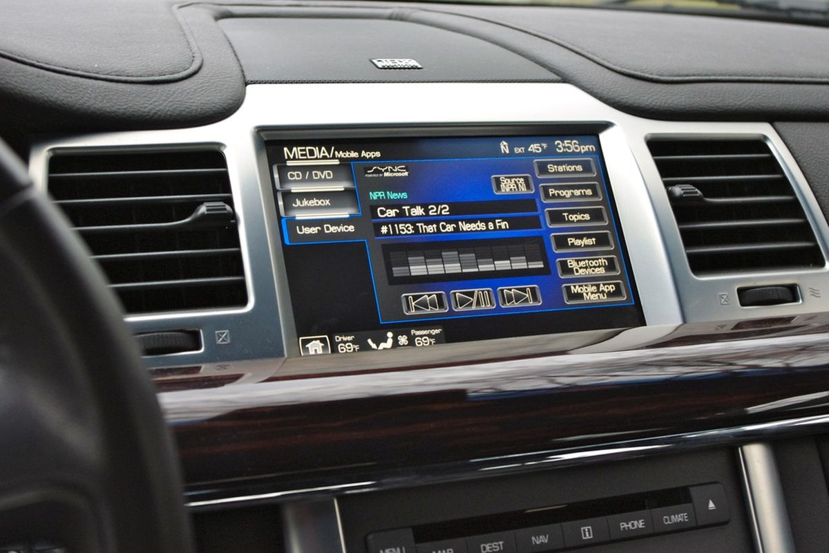 Ford Sync with NPR