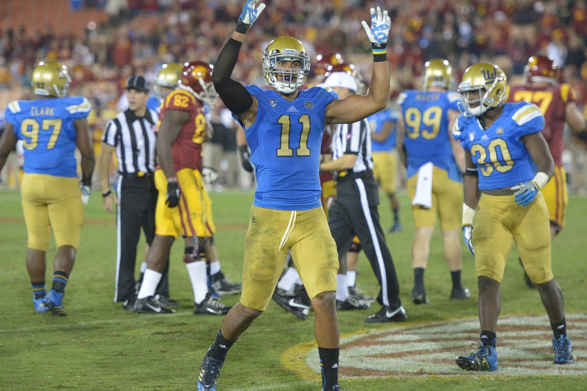 The Bruins got a commit from 5* OLB Keisena Lucier-South. Anthony Barr approves.