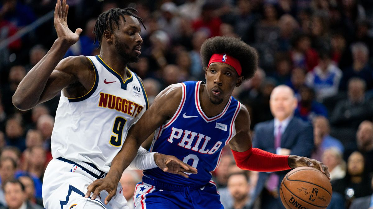 NBA: Denver Nuggets at Philadelphia 76ers