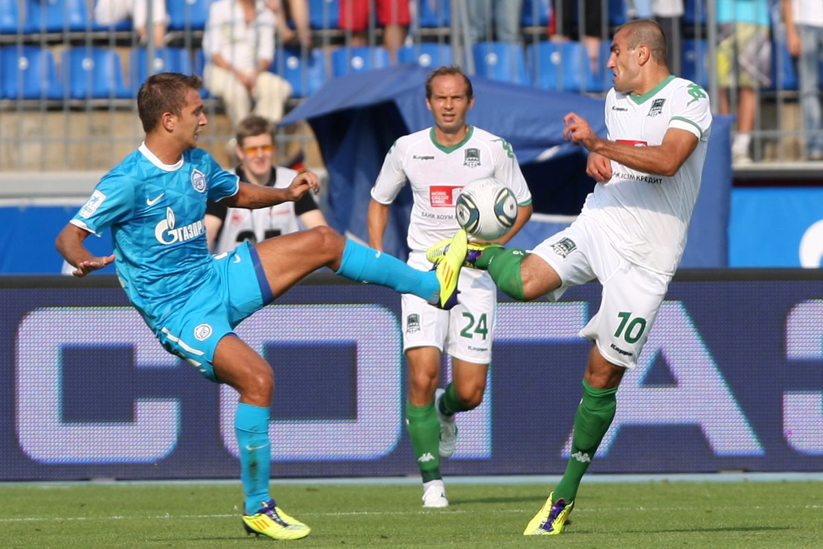 Zenit St. Petersburg v Krasnodar - Premier League