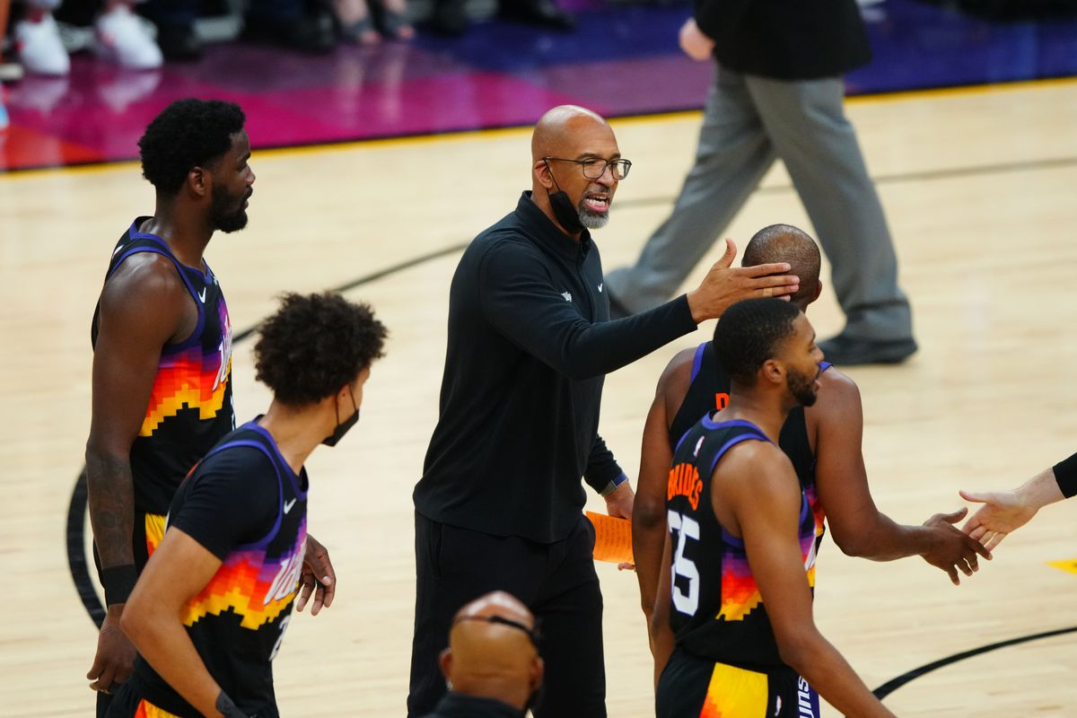 NBA: Playoffs-Denver Nuggets at Phoenix Suns