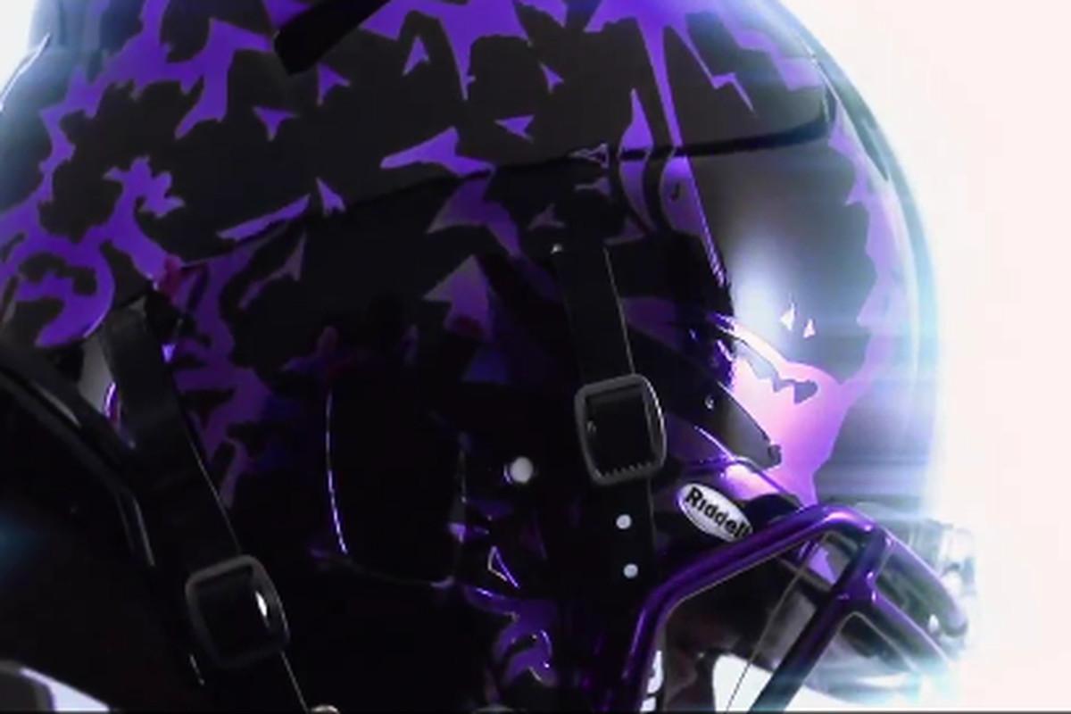 TCU to debut new black helmets vs. Oklahoma - Frogs O  War e06cb54d7