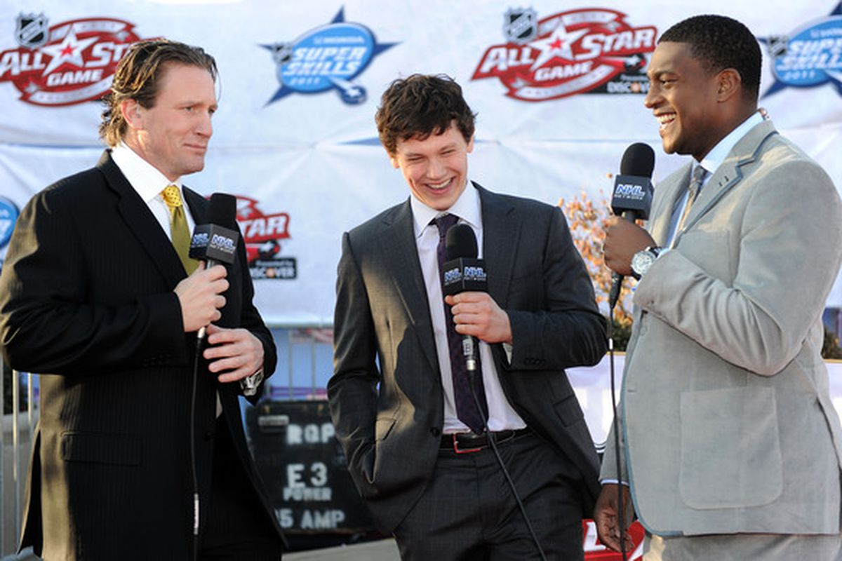 Roenick today as a broadcaster. Respect you as a player, but get off my TV!