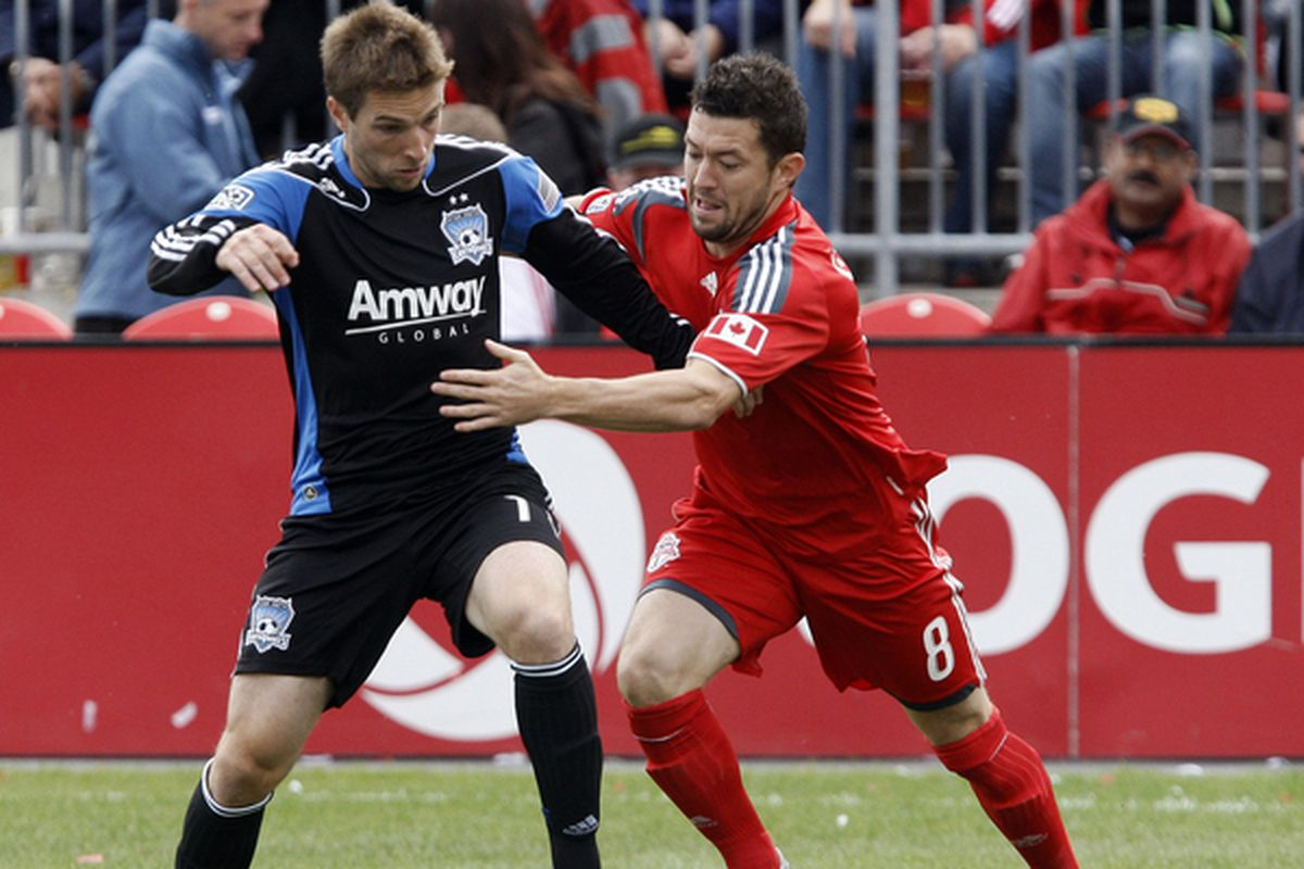 Bobby Convey used to cause quite the headache for Toronto's defenders, including Dan Gargan